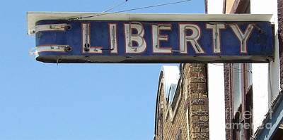 Photograph - Liberty by L Cecka