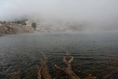 Photograph - Liberty Lake In Fog by Jenessa Rahn