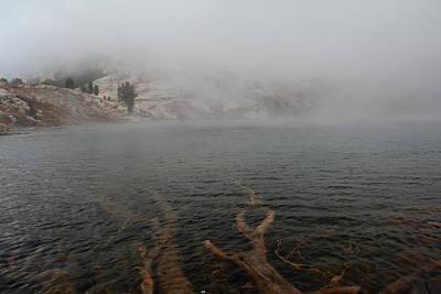 Photograph - Liberty Lake In Fog by Jenessa Rahn
