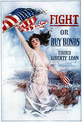 Photograph - Liberty Loan, 1917 by Granger
