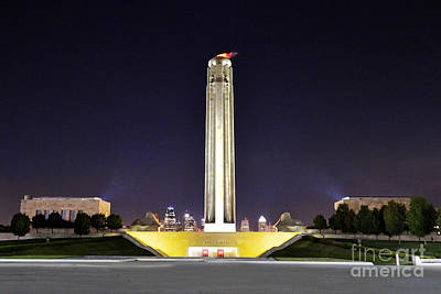 Photograph - Liberty Memorial In Kansas City by Catherine Sherman