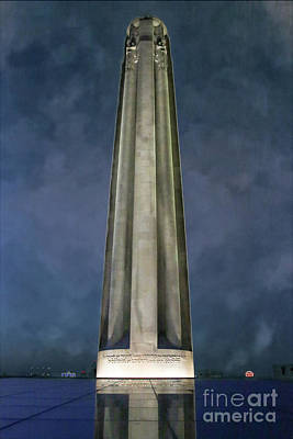 Photograph - Liberty Memorial by Lynn Sprowl