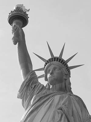 Photograph - Liberty Mono by Richard Reeve