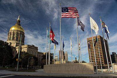 Photograph - Liberty Plaza by Kenny Thomas