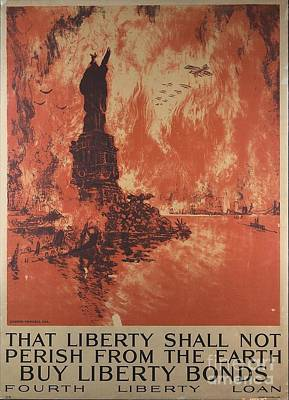 Liberty Shall Not Perish Art Print by Frederick Holiday