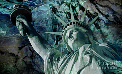Painting - Liberty  by Tlynn Brentnall