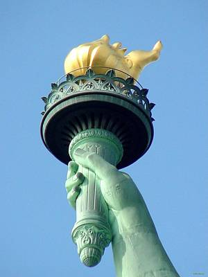 Photograph - Liberty Torch by Tim Mattox