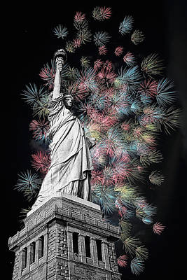 Digital Art - Liberty V by  Newwwman
