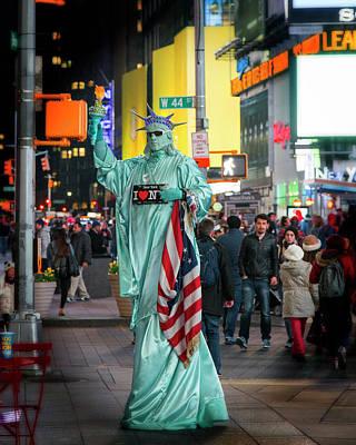 Photograph - Liberty1 by Alan Raasch