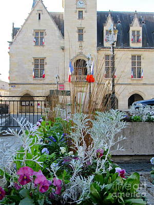 Photograph - Libourne Town Hall by Barbara Plattenburg