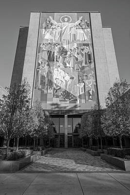 Photograph - Library At Notre Dame  by John McGraw