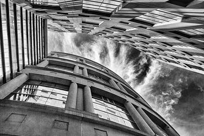 Photograph - Library Clouds by Eunice Gibb