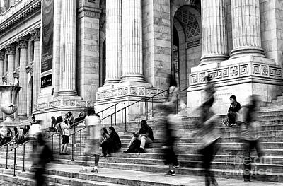 Photograph - Library Ghosts by John Rizzuto