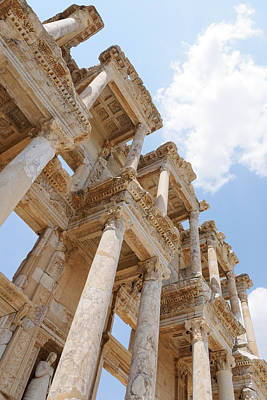 Library Of Celsus Photograph - Library Of Celsus by Darin Volpe
