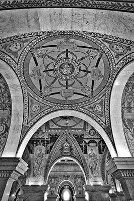 Photograph - Library Of Congress Arches And Murals by Stuart Litoff