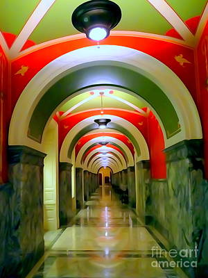 Digital Art - Library Of Congress Grandeur #4 by Ed Weidman