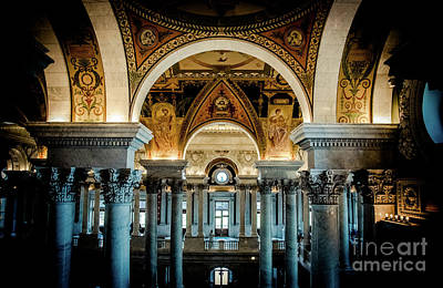 Photograph - Library Of Congress by Bianca Nadeau