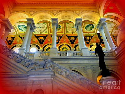 Photograph - Library Of Congress Grandeur #2 by Ed Weidman
