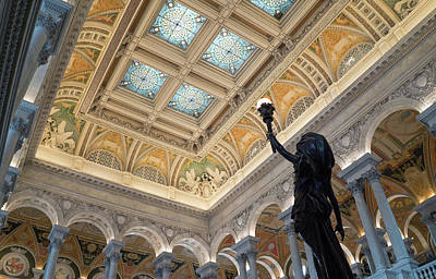 Photograph - Library Of Congress Great Hall IIi by Jared Windler