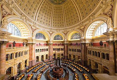 Library Of Congress I Art Print by Robert Davis