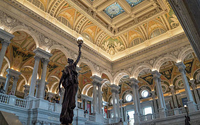 Photograph - Library Of Congress by Jared Windler