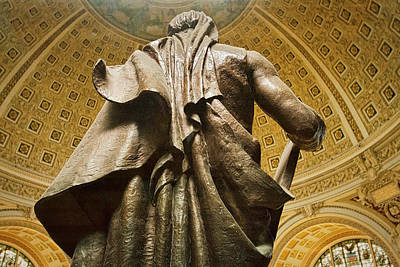 Photograph - Library Of Congress Moses by Stuart Litoff