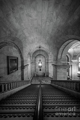 Library Photograph - Library Staircase by Inge Johnsson