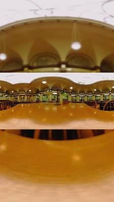 Library Digital Art - Library Time by Britten Adams