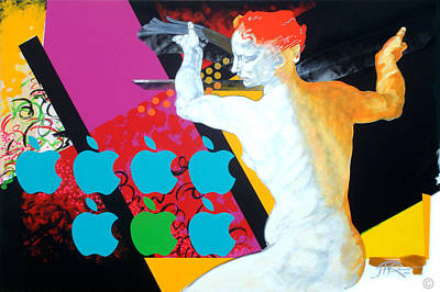 Libyan Art Print by Jean Pierre Rousselet