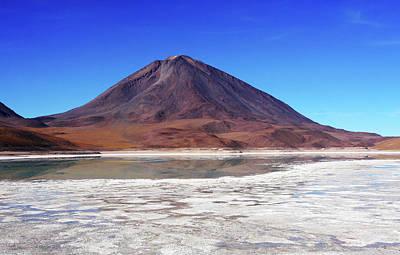 Photograph - Licancabur Volcano, Bolivia by Aidan Moran