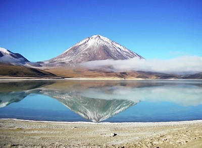 Best Stock Photograph - Licancabur Volcanoe by Julian Bowdern