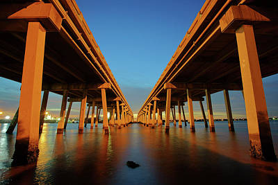 Photograph - Licata Bridges In Tampa by Daniel Woodrum