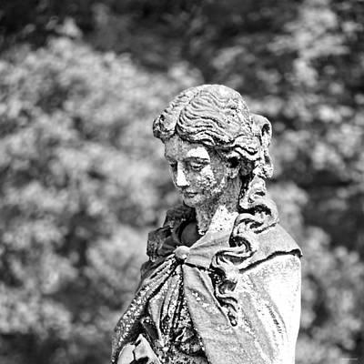 Photograph - Lichen Face by Brenda Conrad
