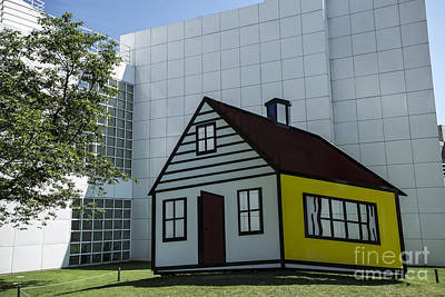Photograph - Lichtenstein At High Museum - Atlanta by David Bearden