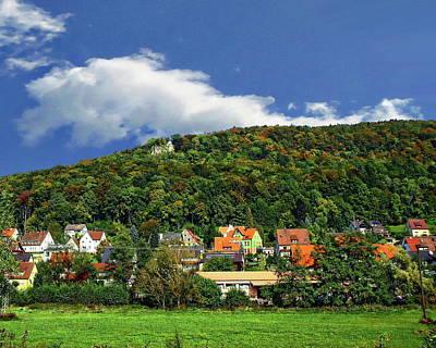 Photograph - Lichtenstein Castle by Anthony Dezenzio
