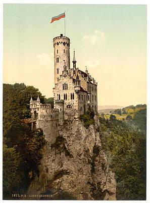 Lichtenstein Castle Art Print by ArtworkAssociates