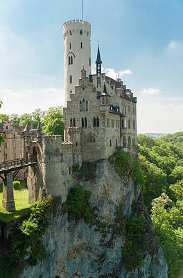 Photograph - Lichtenstein Castle by Dennis Ludlow