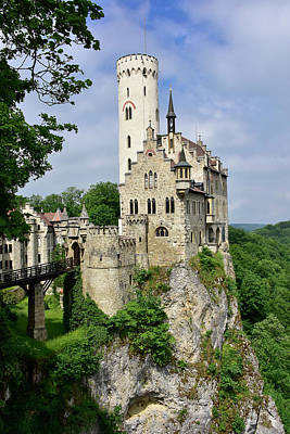 Lichtenstein Castle Art Print