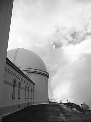 Lick Observatory Photograph - Lick Observatory 2 by Gwendolyn Barnhart