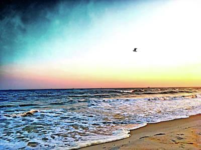 Photograph - Lido Beach #1 by Janet E Gorman