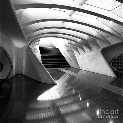 Liege Guillemins Train Station Art Print