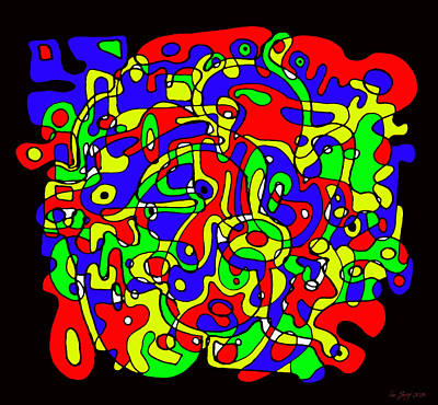 Microsoft Painting - Life 8086 by Sir Josef - Social Critic -  Maha Art