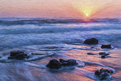 Shore Digital Art - Life Always Changes II by Jon Glaser