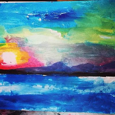 Love Painting - Life And High Places Of Love by Love Art Wonders By God