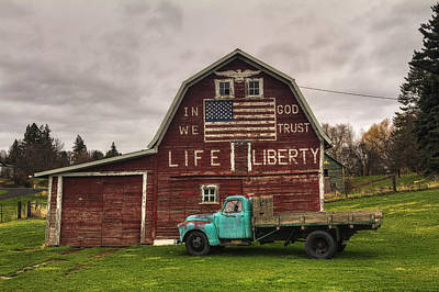 Photograph - Life And Liberty  by Mark Kiver