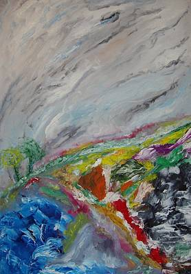 Painting - Life And Wind by Bennu Bennu