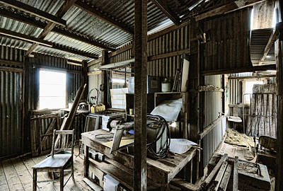 Photograph - Life As A Shed  by Wayne Sherriff
