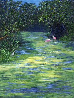Painting - Life At The Refuge by Karen Zuk Rosenblatt