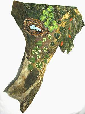 Lynda Boardman Art Tapestry - Textile - Life At The Top by Lynda K Boardman