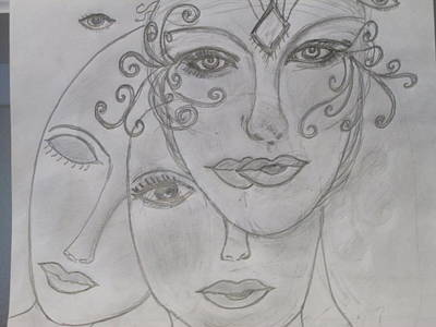 Drawing - Life Awakening by Sharyn Winters